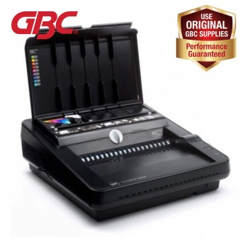 GBC CombBind C450E - Electric Comb Binder - Binds 450 Sheets - Punches 25 Sheets (Item No: G07-33)