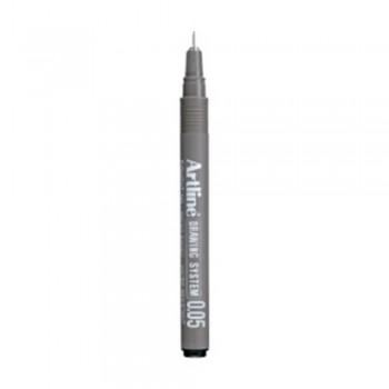 Artline Black Drawing System Pen 0.05mm (EK-2305)