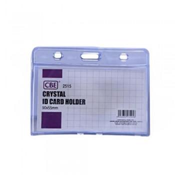 CBE 2515 Crystal ID Card Holder - 90 x 55mm