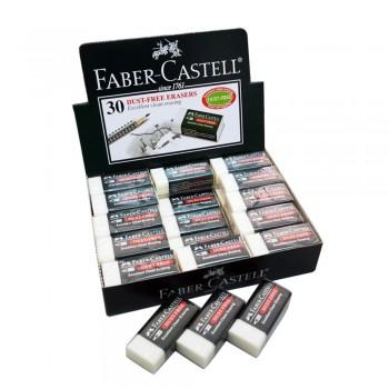 Faber Castell Dust-Free Eraser (7085-30D) 30pcs/box