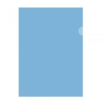 L Shape Transparent (Blue) Document Holder File A4 Size