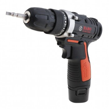12V Cordless Drill with Carrying Case - Screwdriver Driver Hand Electric Drills Power Drill Machine with Power Electrical Tools Rechargeable