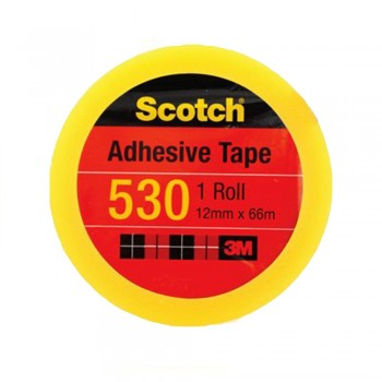 "3M Scotch 530 Tape 12mmx66m(3"" core)"