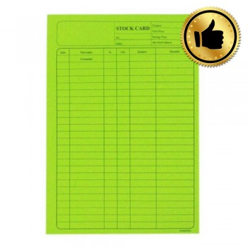 5006 120Gsm Stock Card 20'S Green (Best)
