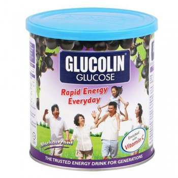 Glucolin Glucose Blackcurrant 420g