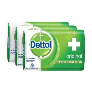 Dettol Body Soap Original 65g x 3's
