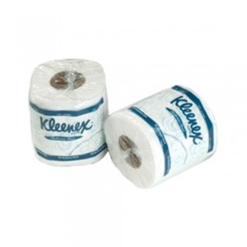 KLEENEX® 2-Ply Small Roll Tissue (Single Wrapped) - 10rolls x 220sheets