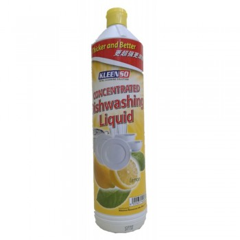 Kleenso Concentrated Lemon Dishwash Liquid 900 ml