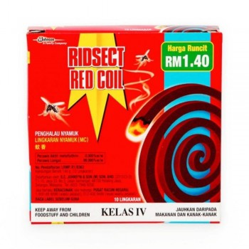 Ridsect Red Coil (10pcs) (Item No: F07-07) A3R1B14