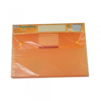 CBE 4315 13P Expanding File (A4) Orange