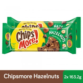 Chipsmore Hazelnut Cookies (163.2g x 2)