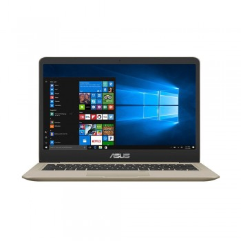 """Asus Vivobook A411U-NEB345T 14"""" FHD Laptop - i5-8250U, 4gb ddr4, 1tb hdd, NVD MX150 2gb, W10, Gold"""