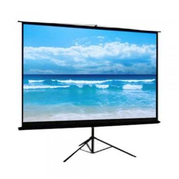 DP Screen Projector Screen - Tripod Screen - Matte White - DP-TP-06 - Screen Ratio 6' x 6' - Screen Size 1800 x 1800mm
