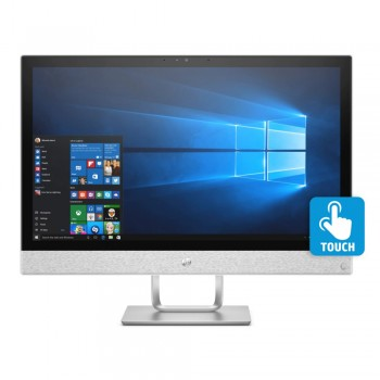 "HP Pavilion Touchsmart 24-r102d 23.8"" FHD IPS AIO Desktop PC - RYZEN 3 2300U, 8GB DDR4, 1TB, W10"