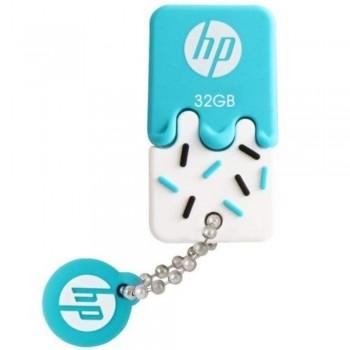 HP v178B ice-cream Thumb Drive 32GB - Blue