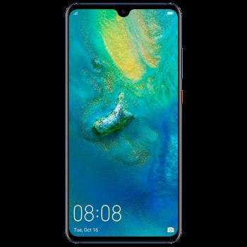 Huawei Mate 20 6.53 IPS Smartphone - 128gb, 6gb, 16mp + 12mp + 8mp, 4000mAH, Blue