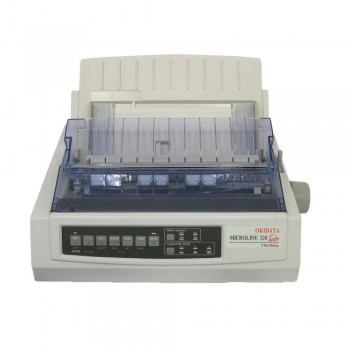 ML320T Plus 9 pin Dot Matrix Printer c/w Power Cord & USB Cable -42089221 (Item No: OKI ML320T PLUS)