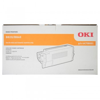 OKI B820/840 Toner Cartridge 44707701 - 6K pages