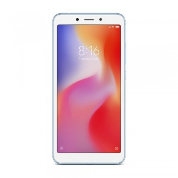Redmi 6 5.45'' FHD+ SmartPhone - 32gb, 3gb, 12mp, 3000mAh, Mediatek Helio P22, Blue