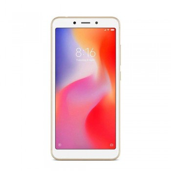 Redmi 6 5.45'' FHD+ SmartPhone - 32gb, 3gb, 12mp, 3000mAh, Mediatek Helio P22, Gold
