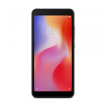 Redmi 6A 5.45'' FHD+ SmartPhone - 16gb, 2gb, 13mp, 3000mAh, Mediatek Helio A22, Black