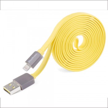 Yoobao Colourful Micro (80cm) USB Cable - Yellow (Item No: YB405-CBL-YEL) A4R2B83 -while stock last