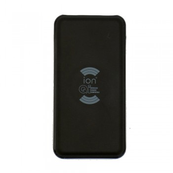 Ion Quick Charge 3.0 Dual USB Qi Wireless Charge 10000mAh Lithium Polimer Power Bank