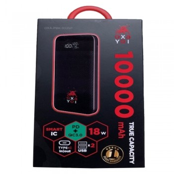 OXA Power Bank 10000mAh - PD+QC 3.0, 3.7v, 37wh
