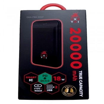 OXA Power Bank 20000mAh - PD+QC 3.0, 3.7v, 74wh