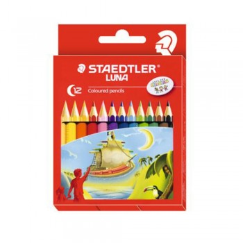 Staedtler Luna Colour Pencil 12 Colours - Full Length