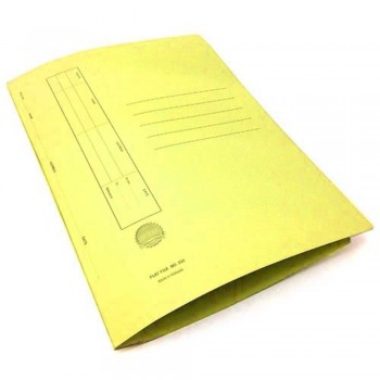 Manila Flat File U-Pin Spring Hook - No.350 Yellow A1R1B109