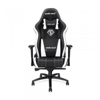 ANDA SEAT Gaming Chair Spirit King Series - Black/White
