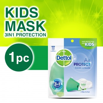 Dettol 3 in 1 Washable & Reusable Kids Mask
