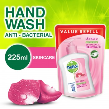 Dettol Hand Wash Skincare Refill Pouch 225ml