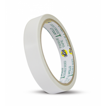 APOLLO Double Sided Cotton Tape - 48mm x 10yards