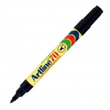 Artline 70 Permanent Marker EK-70 - 1.5mm Black (Refillable)