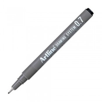 Artline Black Drawing System Pen 0.7mm (EK-237)