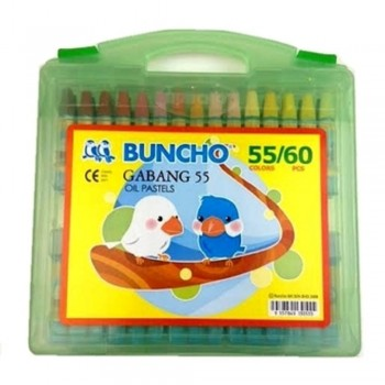 Buncho Gabang Oil Pastel - 55 Colors