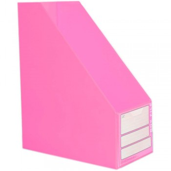 "CBE 06813 5"" PVC Box File (A4) PINK"