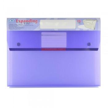 CBE 4315 13P Expanding File (A4) Purple (Item No: B10-124 PL)