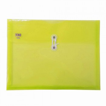 CBE 103A PP Document Holder (A4) Yellow