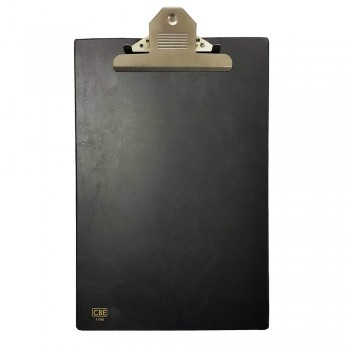 CBE 1496 PVC Jumbo-Clip Board (FC)-black