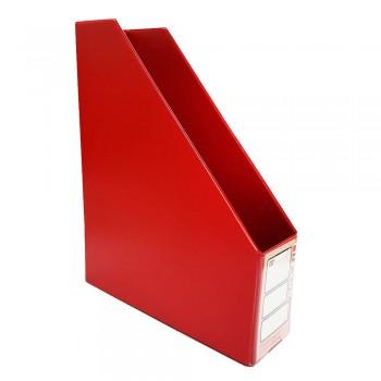"CBE 412 3"" PVC Box File (A4)-red (Item No: B10-114) A1R5B78"