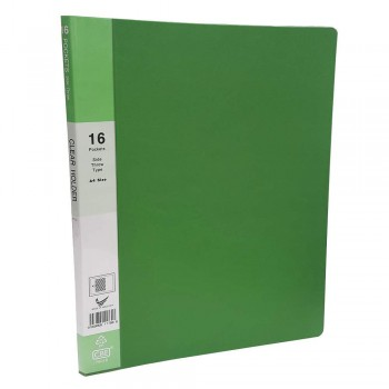 CBE Basal Colour Clear Holder 76016 A4 Green (Item No : B10-59GR) A1R5B12