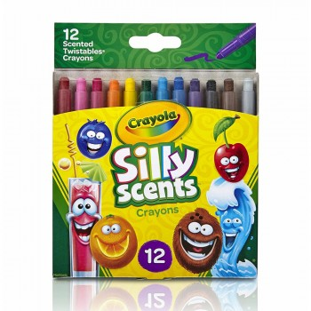 Crayola 12ct Silly Scents Twistables Crayons - 529612