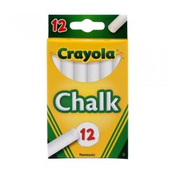 Crayola 12ct White Chalk - 510320