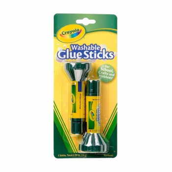 Crayola Washable Glue Sticks 2pc 16g - 561129