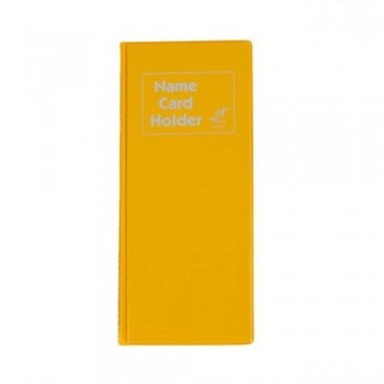 East File NH240 Name Card Holder Yellow