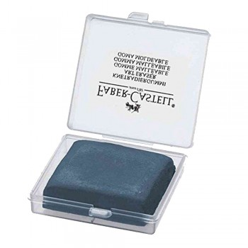 Faber-Castell Kneadable Gummi Eraser Grey in Plastic Box (127220)