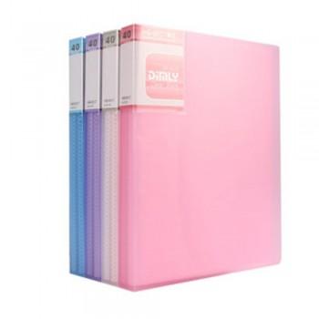 Kobest A5 40 Pocket Clear Book (A5340)